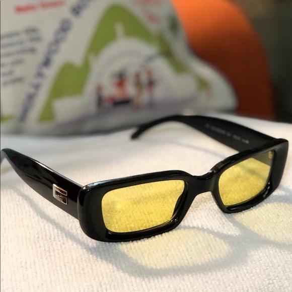 f052955ca7b28 Gucci Accessories - Vintage Gucci GG 2409 N S Sunglasses Black Yellow